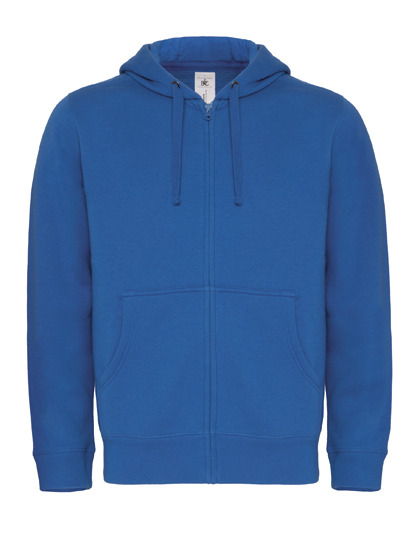 Basic Zip-Hoodie Man - Royal Blue