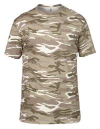 Premium T-Shirt Man - Camouflage Sand