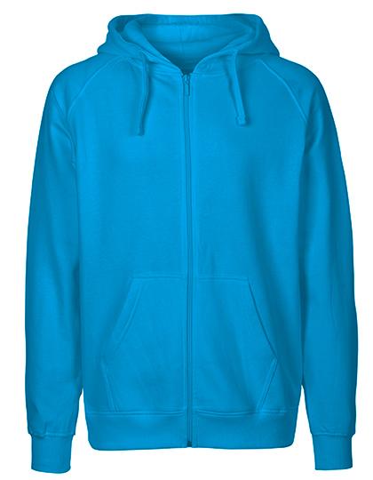 Zip-Hoodie Organic 100% Bio-Baumwolle Man - Sapphire
