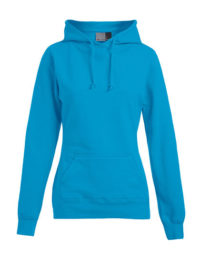 Basic Hoodie Woman - Turquoise