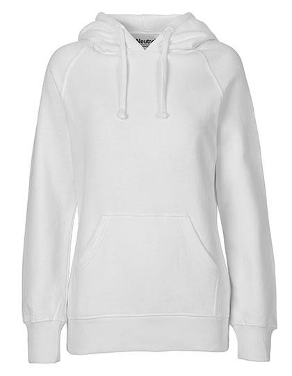 Hoodie Organic 100% Bio-Baumwolle Woman - White