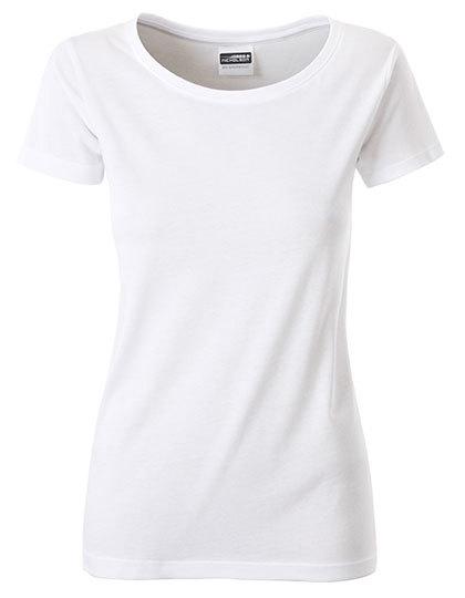 Basic T Organic 100% Bio-Baumwolle Woman - White
