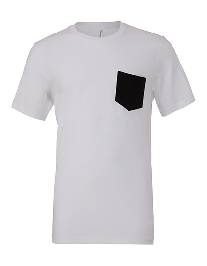 Premium Pocket T-Shirt Man - White / Black