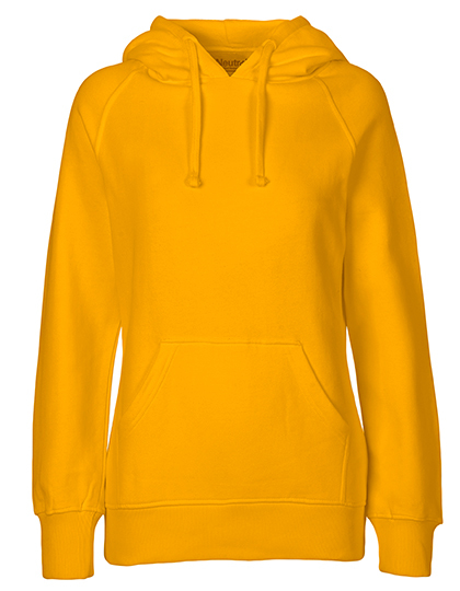 Hoodie Organic 100% Bio-Baumwolle Woman - Yellow