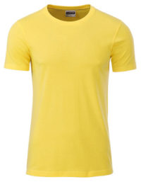 Basic T Organic 100% Bio-Baumwolle Man - Yellow