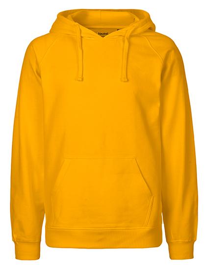 Hoodie Organic 100% Bio-Baumwolle Man - Yellow
