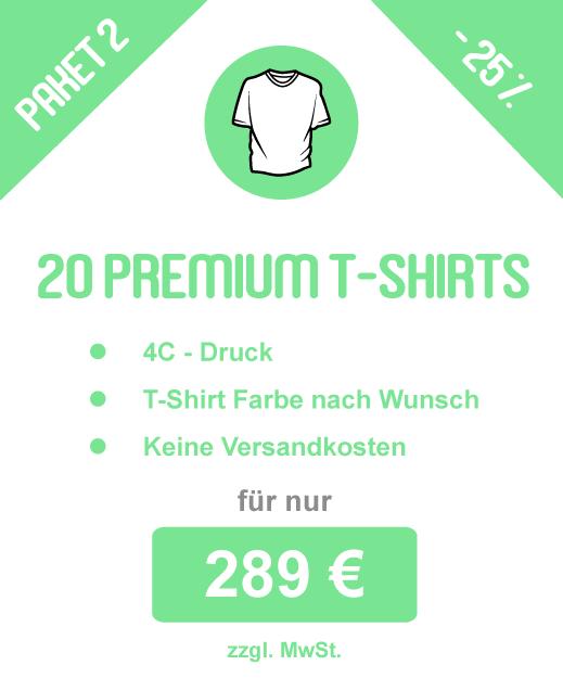 Sparpaket: 20 Basic Hoodies inkl. Druck für 429 €