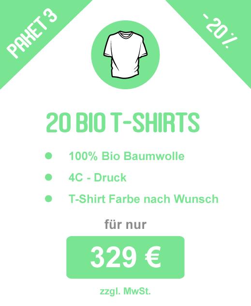 T-Shirt-Paket_3 20 Bio-Baumwolle